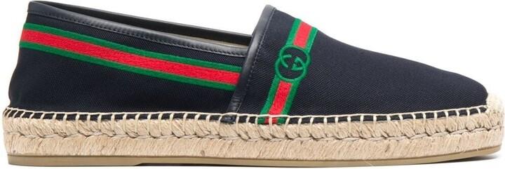 Gucci Web-detail espadrilles