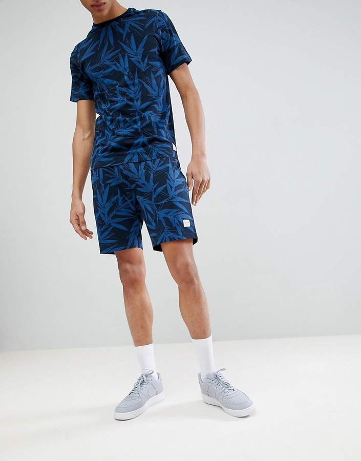 ONLY & SONS Jersey Shorts With All Over Print