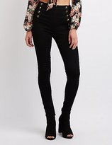 Charlotte Russe Cello Skinny Sailor Jeans