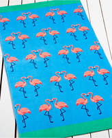 Martha Stewart Collection Flamingo Kiss Beach Towel, Only at Macy's