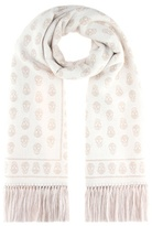 Alexander McQueen Wool and silk scarf