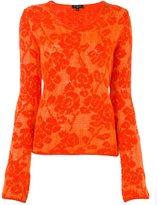 Etro floral jacquard jumper