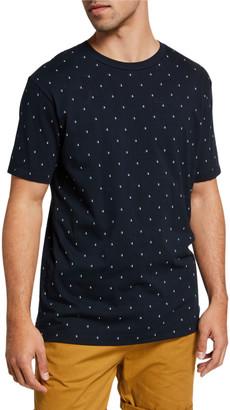 Scotch & Soda Men's Jersey Patterned Crewneck T-Shirt