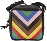Sara Battaglia Striped Shoulder Bag