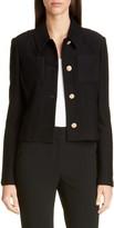 St. John Float Jacquard Knit Jacket