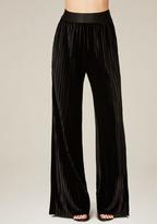 Bebe Velvet Flared Pants