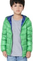 CHERRY CHICK Kid's Packable Down Hooded Jacket