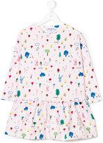 Simonetta rabbit print dress