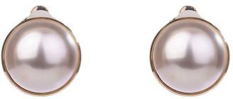 Gregory Ladner Clip Faux Pearl Earrings