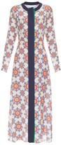 Jonathan Saunders Lila star-print crepe de Chine dress