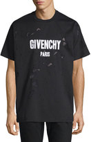 Givenchy Distressed Logo T-Shirt