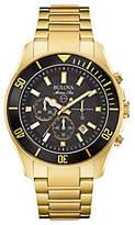 Bulova Men's Chronograph Marine Star Goldtone Watch
