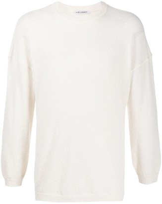 Our Legacy crew-neck wool jumper