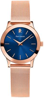 Pierre Lannier Womens Analogue Quartz Watch with Stainless Steel Strap 051H968