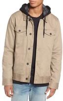 Hurley Men's MAC Trucker 3.0 Hooded Jacket