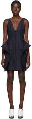 Jacquemus Navy La Robe Lecci Dress
