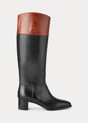 Ralph Lauren Alyshia Calfskin Boot