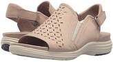 Aravon Beaumont Peep Sling (Dove) Women's Shoes