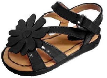 Babies 'R' Us Babies R Us Koala Kids Girls' Hard Sole Patent Flower Sandals
