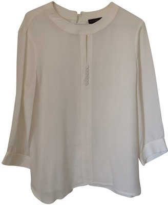 Adolfo Dominguez Ecru Silk Top for Women