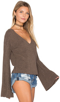 Free People Starman V Pullover Top