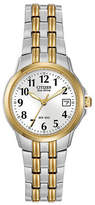 Citizen Eco-Drive Silhouette Two-Tone Stainless Steel Bracelet Watch