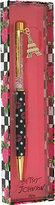 Betsey Johnson Polka Dot Lips Pen With Charm