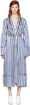 Blue Striped Pyjama Robe
