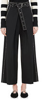 Proenza Schouler Women's Worsted Wool-Blend Belted Culottes