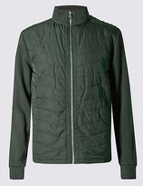 Blue Harbour Cotton Rich Tailored Fit Quilted Jacket