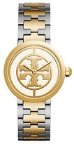Tory Burch Reva Watch, Two-Tone Rose Gold/Stainless Steel/Ivory, 36 Mm