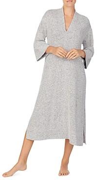 Donna Karan Sleepwear Side Slit Sleep Caftan