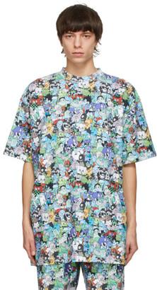 Vetements Multicolor Cartoon Mania T-Shirt