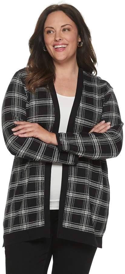 Croft & Barrow Women's Essential Open Front Cardigan