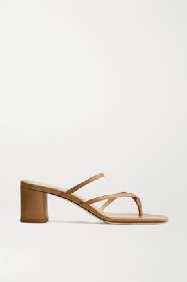AEYDĒ Larissa Leather Mules