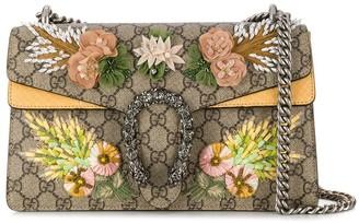 Gucci Floral Monogram Bag