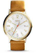 Fossil Vintage Muse Tan Leather Watch