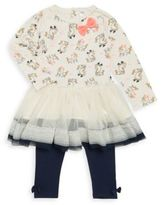 Petit Lem Baby's Tulle Skirt Tunic & Leggings Set