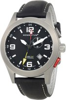 Momentum Men's 1M-SP58B2B Vortech GMT Analog Watch with GMT Function and Alarm Watch