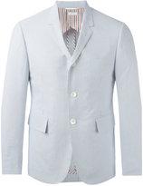 Thom Browne striped blazer - men - Cotton/Cupro - 1