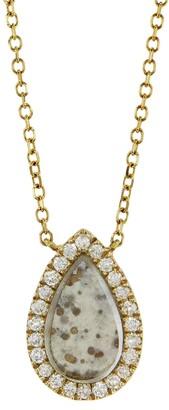 Darsana Mercy Yellow Gold Necklace