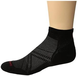 Smartwool PhD(r) Run Light Elite Low Cut (Lunar Gray) Men's Low Cut Socks Shoes