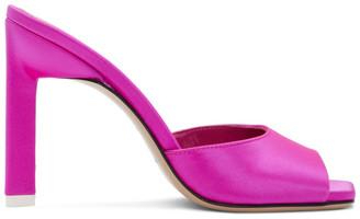 ATTICO Pink Kaia Heeled Sandals