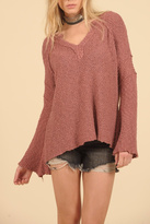 Vintage Havana V Neck Sweater