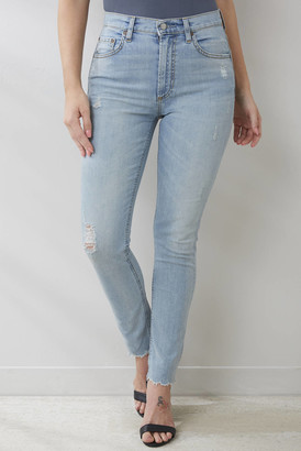 Boyish The Donny Hi Rise Skinny Jean in West Side Story Light Denim 27