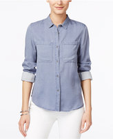 Calvin Klein Jeans Button-Front Long-Sleeve Shirt