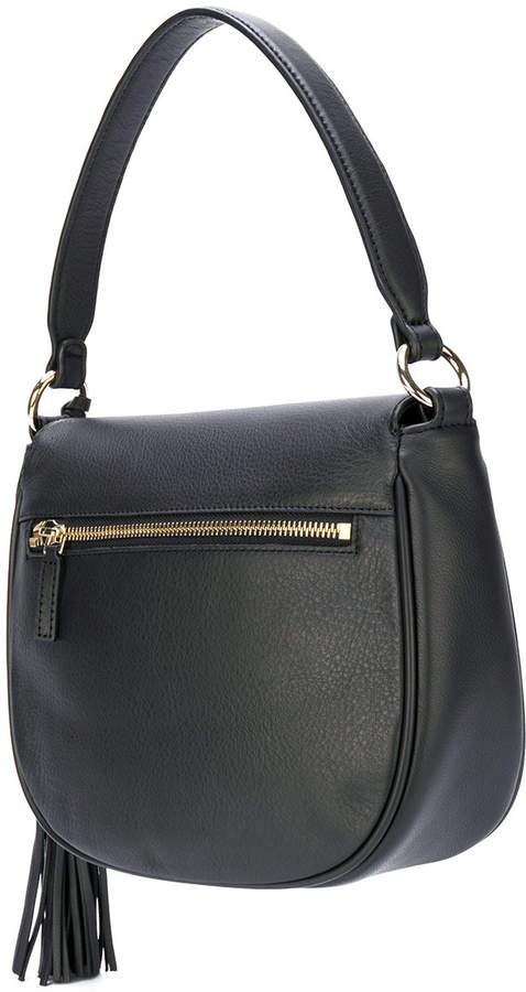 Lancaster saddle shoulder bag