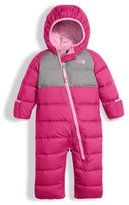 The North Face Girls' Lil' Snuggler Quilted Down Bunting, Pink, Size 3-12 Months