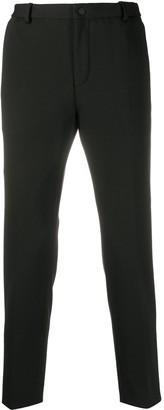 Calvin Klein Mid-Rise Straight Leg Trousers