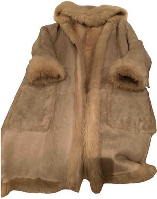 Loewe Grey Shearling Coats